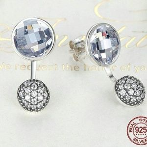 Jewelry - New - Droplet Earring Jackets 925 SS